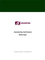 Axiomtek Bay Trail Products