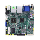 NANO100 - Nano-ITX SBC with AMD G-Series APU, AMD A50M FCH, LVDS/DisplayPort/VGA, Dual LANs and Audio